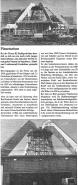 Zeitungsartikel-Planetarium