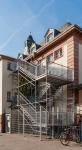 Treppenturm, ehemallige Uhllandschule, Weinheim