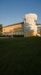Schloss Herrnsheim bei Woms während der Renovierungsarbeiten im Sommer 2014